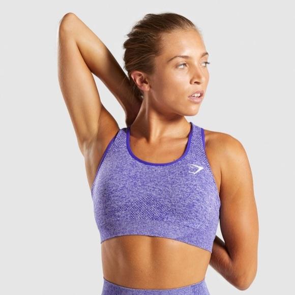 a0a8defd0706c Gymshark Other - Vital Seamless Sports Bra Indigo Marl
